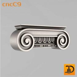 Капитель cncC9 - 3D ЧПУ