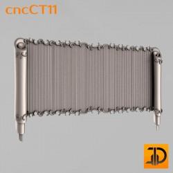Резной картуш - cncCT11