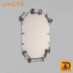 Резной картуш - cncCT3