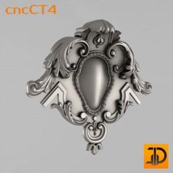 Резной картуш - cncCT4