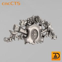 Резной картуш - cncCT5