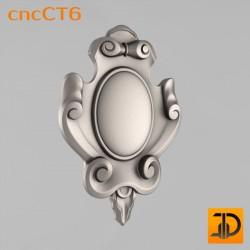 Резной картуш - cncCT6