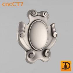Резной картуш - cncCT7