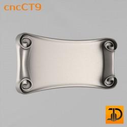 Резной картуш - cncCT9