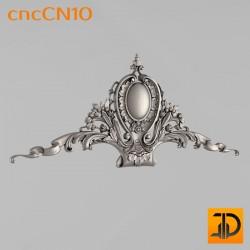 Центральный декор cncCN10 - 3D модель ЧПУ