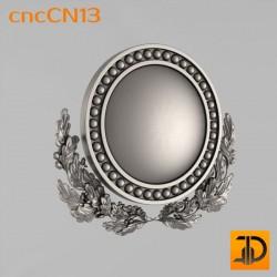 Центральный декор cncCN13 - 3D модель ЧПУ