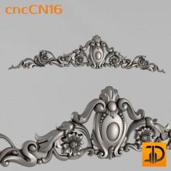 Центральный декор cncCN16 - 3D модель ЧПУ