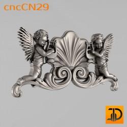 Центральный декор cncCN29- 3D модель ЧПУ