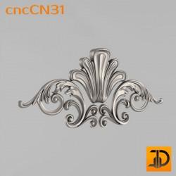 Центральный декор cncCN31 - 3D модель ЧПУ