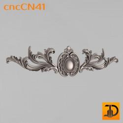 Центральный декор cncCN41 - 3D модель ЧПУ