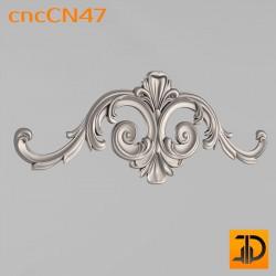 Центральный декор cncCN47 - 3D модель ЧПУ