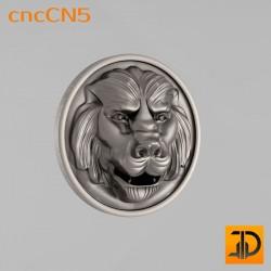 Центральный декор cncCN5 - 3D модель ЧПУ