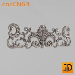 Центральный декор cncCN64 - 3D модель ЧПУ