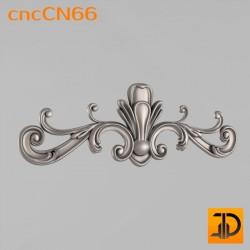 Центральный декор cncCN66 - 3D модель ЧПУ