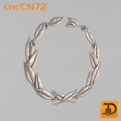 Центральный декор cncCN72 - 3D модель ЧПУ