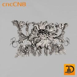 Центральный декор cncCN8 - 3D модель ЧПУ