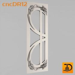 Дверь резная - cncDR12