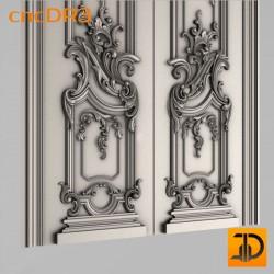 Дверь резная - cncDR3