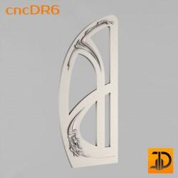 Дверь резная - cncDR6