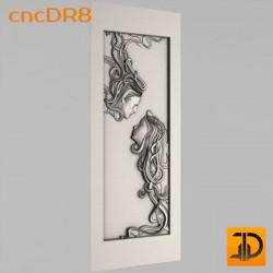 Дверь резная - cncDR8