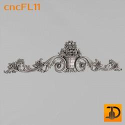 Цветочный узор cncFL11 - 3D ЧПУ