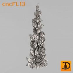 Цветочный узор cncFL13 - 3D ЧПУ