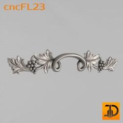 Цветочный узор cncFL23 - 3D ЧПУ