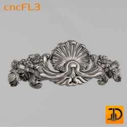 Цветочный узор cncFL3 - 3D ЧПУ