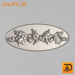 Цветочный узор cncFL31 - 3D ЧПУ