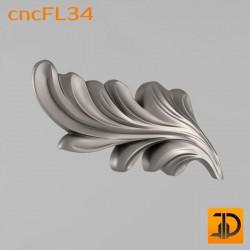 Цветочный узор cncFL34 - 3D ЧПУ