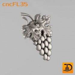 Цветочный узор cncFL35 - 3D ЧПУ