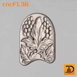 Цветочный узор cncFL36 - 3D ЧПУ