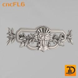 Цветочный узор cncFL6 - 3D ЧПУ