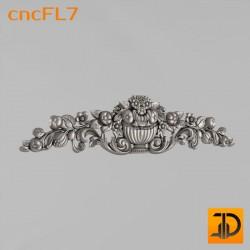 Цветочный узор cncFL7 - 3D ЧПУ