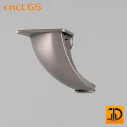 Ножка резная - cncLG5