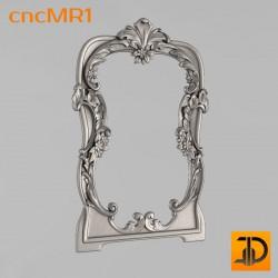 Зеркало cncMR1 - 3D модель ЧПУ