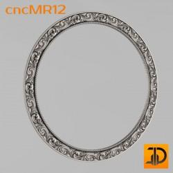 Зеркало cncMR12 - 3D модель ЧПУ