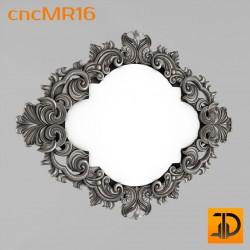 Зеркало cncMR16 - 3D модель ЧПУ
