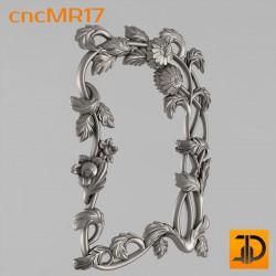 Зеркало cncMR17 - 3D модель ЧПУ