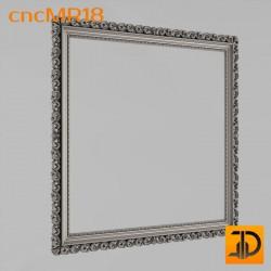 Зеркало cncMR18 - 3D модель ЧПУ