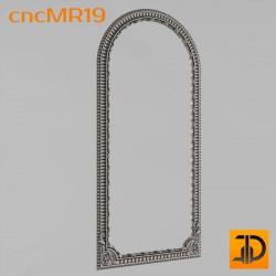Зеркало cncMR19 - 3D модель ЧПУ