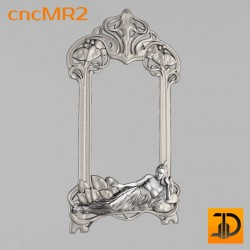 Зеркало cncMR2 - 3D модель ЧПУ