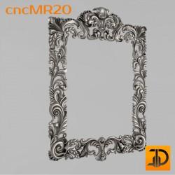 Зеркало cncMR20 - 3D модель ЧПУ