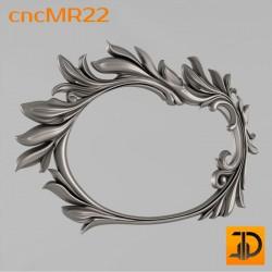 Зеркало cncMR22 - 3D модель ЧПУ