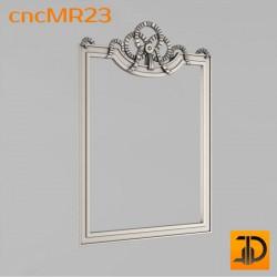 Зеркало cncMR23 - 3D модель ЧПУ