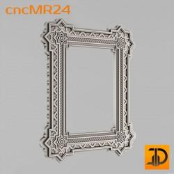Зеркало cncMR24 - 3D модель ЧПУ