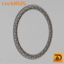 Зеркало cncMR25 - 3D модель ЧПУ