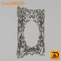 Зеркало cncMR26 - 3D модель ЧПУ