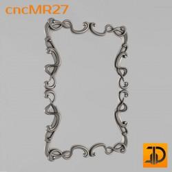 Зеркало cncMR27 - 3D модель ЧПУ