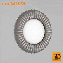 Зеркало cncMR28 - 3D модель ЧПУ